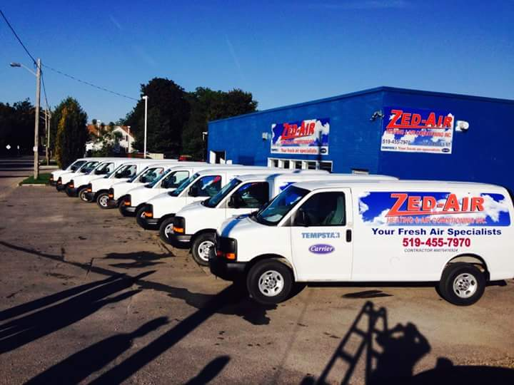 Zed-Air Heating & Air Conditioning truck